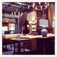 Photo taken at Library Bar @ Hotel Jerome by CatchCarri on 4/9/2013