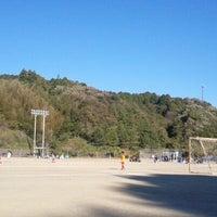 Photo taken at 森町町営グラウンド by Shiba y. on 11/18/2012