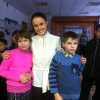 Photo taken at Ильинская Школа Интернат by Олеся Т. on 11/30/2012