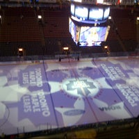 Photo taken at Air Canada Centre by Chris H. on 3/26/2013