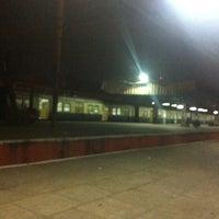Photo taken at Chennai Beach Station by Neeraj P. on 3/3/2013