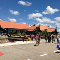 Photo taken at Siem Reap International Airport (REP) by Максимова on 6/27/2013