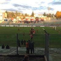 Photo taken at Stadio Tommaso Fattori by Y W. on 11/9/2014