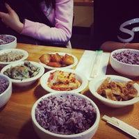Photo taken at Myung-dong Soft Tofu House Korean Restaurant by minniemon on 10/20/2012