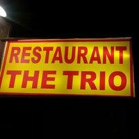 Photo taken at Trio Restaurant by Raj S. on 10/29/2013