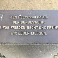 Photo taken at Ehrenmal des Deutschen Heeres by Jan S. on 2/12/2017