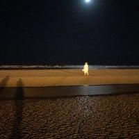 Photo taken at Genaveh Beach by Armaghan K. on 4/4/2017