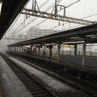 Photo taken at Sasazuka Station (KO04) by MJIsCradle (. on 1/14/2013