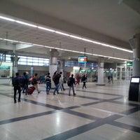 Photo taken at ISBT Kashmere Gate by Gagan M. on 12/27/2014