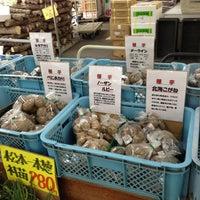 Photo taken at たてしな自由農園 花蒔店 by Tomokazu O. on 5/6/2013