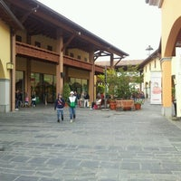 Photo taken at Franciacorta Outlet Village by Alessandro F. on 10/14/2012