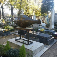 Photo taken at Montparnasse Cemetery by Ninjaw P. on 11/4/2012