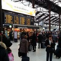 Photo taken at Paris Lyon Railway Station by Ninjaw P. on 12/28/2013