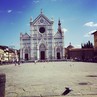 Photo taken at Basilica of Santa Croce by Wissam M. on 8/31/2013