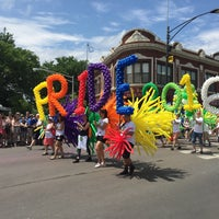 Photo taken at 2016 Chicago Pride Parade @ ChicagoPride.com by Julia B. on 6/26/2016