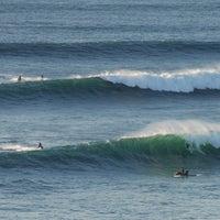 Photo taken at Praia do Norte by Pedro M. on 10/28/2013