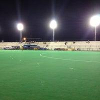 Photo taken at Estadio Hockey by Cristian B. on 3/8/2013