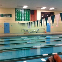 Photo taken at Greendale HS Pool by Michelle W. on 10/23/2013