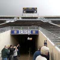 Photo taken at Notre Dame Stadium by Joe C. on 10/19/2012