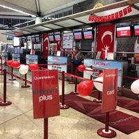 Photo taken at Istanbul Atatürk Airport (IST) by 🌀Zeynep🌀 M. on 10/15/2013