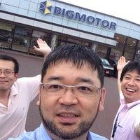 Photo taken at 株式会社ビッグモーター 本社・岩国店 by Yoji K. on 7/5/2013
