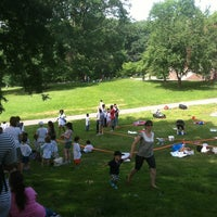 Photo taken at Prospect Park Picnic House by Adam R. on 6/18/2013
