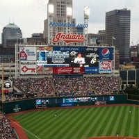 Photo taken at Progressive Field by Matt B. on 9/8/2013