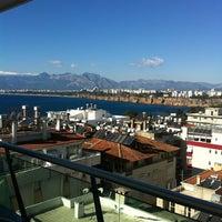 Photo taken at Ramada Plaza Antalya by Gokhan E. on 1/9/2013