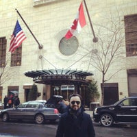 Photo taken at Consulate General of Canada by João Henrique V. on 2/12/2013