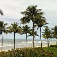 Photo taken at Praia de Juquehy by Ruanna L. on 11/14/2012