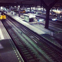 Photo taken at Rotterdam Central Station by Marga J. on 1/27/2013