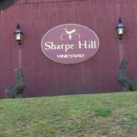 Photo taken at Sharpe Hill Vineyard by Wayne H. on 11/3/2012