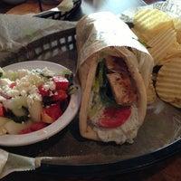 Photo taken at Taziki's Cafe of Charleston by Christina on 7/21/2013