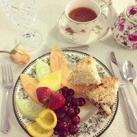 Photo taken at The Secret Garden Tea Cafe & Gift Shoppe by Rachel C. on 3/8/2014