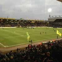 Photo taken at Carrow Road by Thomas M. on 12/29/2012