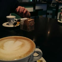 Photo taken at Caffé Trieste by Tomas K. on 2/2/2014