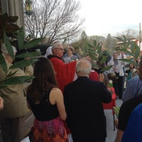 Photo taken at St. Monica-St. George Church by BarbaraKB on 4/13/2014