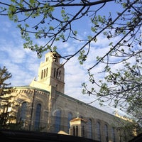 Photo taken at St. Monica-St. George Church by BarbaraKB on 4/27/2014