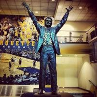 Photo taken at Al McGuire Center by Reggie W. on 10/27/2012