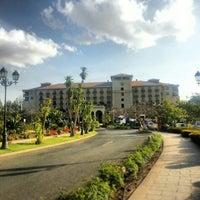 Photo taken at Sheraton Addis by Xenie S. on 2/2/2013