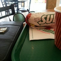 Photo taken at SUBWAY by Leez A. on 3/23/2013