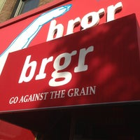 Photo taken at brgr by Robert M. on 5/17/2013
