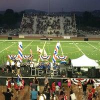 Photo taken at Tustin High School Football Stadium by R. on 7/5/2014