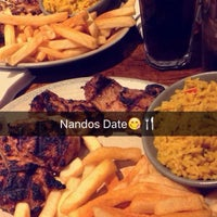 Photo taken at Nando's by Beth C. on 2/29/2016