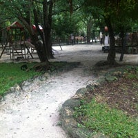 Photo taken at Parque Urbano Kabah by Ivette R. on 10/5/2012