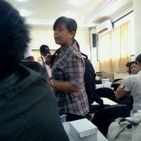 Photo taken at Fakultas Kedokteran by Peri K. on 12/15/2012