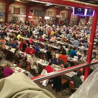 Photo taken at Penobscot High Stakes BINGO by Jessica C. on 10/28/2012