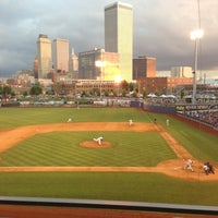 Photo taken at ONEOK Field by Gaye K. on 5/17/2013