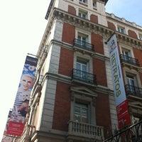 Photo taken at Fundación Mapfre Recoletos by David C. on 10/6/2012