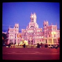 Foto tirada no(a) Palacio de Cibeles por David C. em 11/13/2012
